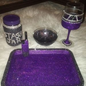 Rolling tray sets